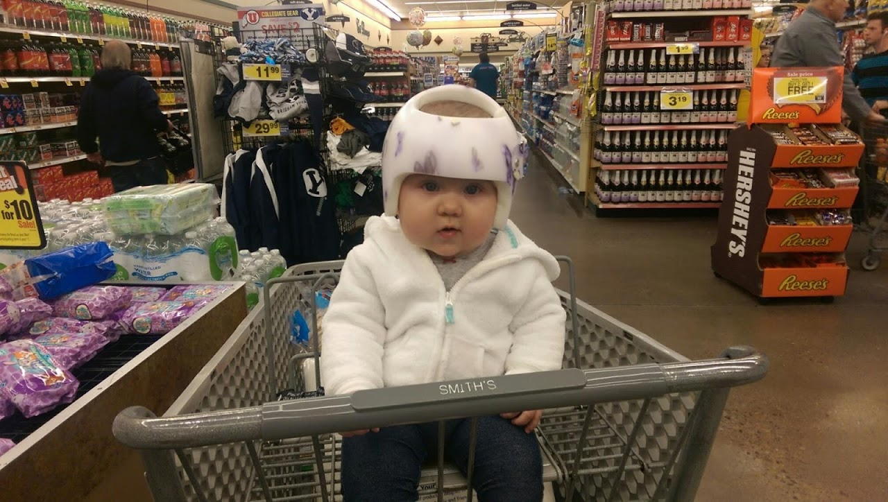 This is our niece Kendra Fae. She is the cutest little chubby girl. Josh and I sometimes babysit her and we took her grocery shopping with us one of those ...