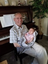 This is Sienna and our adopted grandpa, Grandpa Cook.