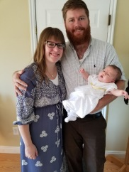 Another family photo after Sienna's blessing.