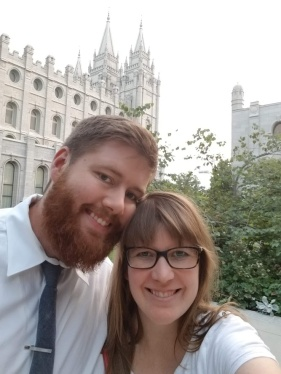 Josh and I had a date night at the Salt Lake temple. It was so beautiful and a wonderful evening with him.
